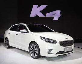 Kia ra mắt xe K4 Concept